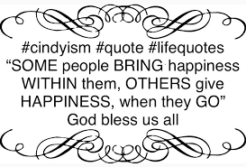 thecrowdview on cindyism quotes happiness friends