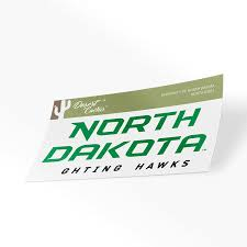 Amazon Com University Of North Dakota Und Fighting Hawks Nodak Ncaa Vinyl Decal Laptop Water Bottle Car Scrapbook Sticker 00031 Computers Accessories