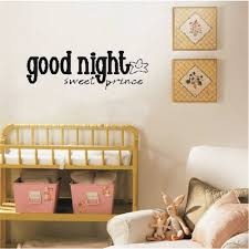 Good Night Sweet Prince Art Apothegm Home Decal Wall Sticker Removable Sale Price Reviews Gearbest