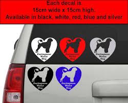 Portuguese Water Dog Vinyl Car Decal Sticker