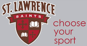 Decal Shield W Sport Name Vinyl Transfer St Lawrence University Brewer Bookstore