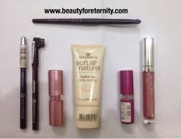 essence make up haul bought face lip