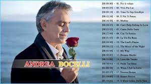 Andrea Bocelli Greatest Hits 2018 Best ...