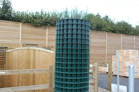 1 83m High Green Pvc Welded Mesh Jacksons Fencing