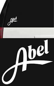 Abel Fly Fishing Reel Outdoor Sports Vinyl Sticker Decal Truck Window Boat White Ebay