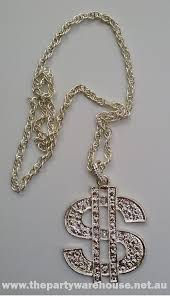 dollar sign pendant necklace the