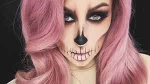 easy skull makeup tutorial chrisspy