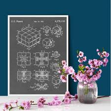 rubik s cube patent print