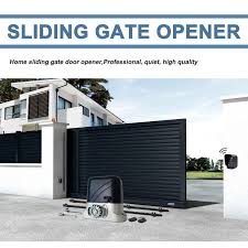 Heavy Duty Electric Sliding Gate Motor Automatic Gate Opener Engine Move Wheeled Gate With 4m Nylon Racks Auto Kgs Optional Access Control Kits Aliexpress