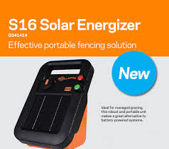Buy Here Gallagher S16 Solar Electric Fence Energizer Free Shipping Gallagher Fence Electric Fencing Grazing Supplies Livestock Scales Pasture Management Solutions