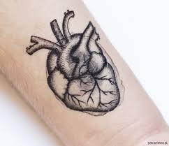 Serce Anatomiczne Tatuaz Tymczasowy Tatuaze Pakamera Pl