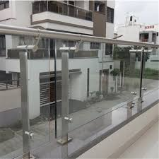 tempered safety glass railing designs