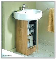 pedestal sink cabinet sacked co