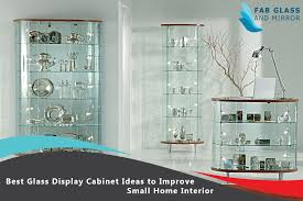 display cabinet ideas to improve small