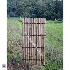 Natural Bamboo Half Raft Panel Bamboo Panel And Bamboo Screen