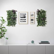 Fejka Wall Mounted In Outdoor Green Lilac Artificial Plant Ikea