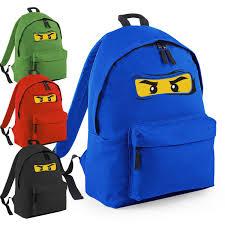 Lego Ninjago Inspired Bag Ninja Face Backpack School Fun College ...