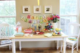 Birthday Table Decoration Pictures Photograph Had Planned