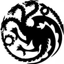 Game Of Thrones House Targaryen Khaleesi Dragons Logo Vinyl Sticker Decal Hbo For Car Truck Mac Wish