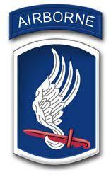 Army 173rd Airborne Brigade Vinyl Transfer Decal