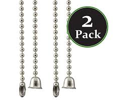 pack of 2 ceiling fan pull chain