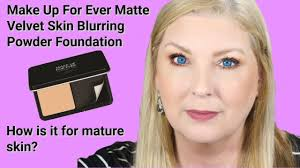 skin blurring powder foundation