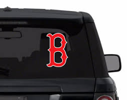 Boston Red Sox Decal Sticker For Car Laptop Corn Hole Red White Die Cut Vinyl Ebay