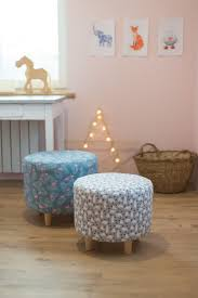 Pouf Ottoman For Living Room And Children S Room With A Removable Fabric Cover A Unique Product By Littlepouf Via En Da Pouf Ottoman Ottoman Childrens Room
