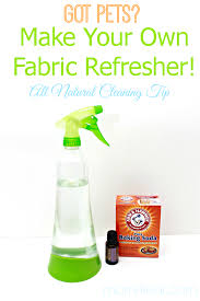 make your own fabric refresher spray