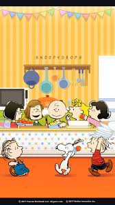 64 thanksgiving snoopy wallpapers on