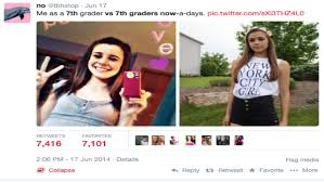 7th graders then vs 7th graders now