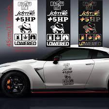 5hp Plus 5 Hp Multiple Colors Car Decal Sticker Rainbowlands Lk