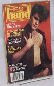 FirstHand: experiences for loving men, vol. 5, #2, February 1985 ...