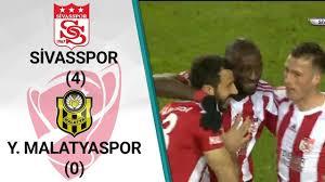 Sivasspor 4 - 0 Malatyaspor MAÇ ÖZETİ (Ziraat Türkiye Kupası Son ...