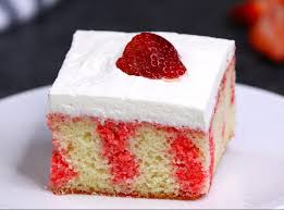 easy strawberry jello poke cake tipbuzz