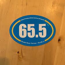 Rhode Master 5 Race Sticker 65 5 Rhode Races Events