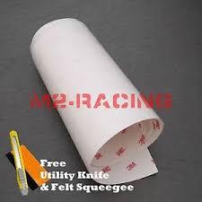 3m Scotchgard Hood Bumper Clear Paint Protection Bra Film Vinyl Wrap Decal 6 Ebay