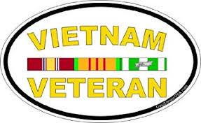 Amazon Com Magnet Vietnam Veteran Oval Decal Military Veteran Served Car Bumper Sticker Magnetic Vinyl 3 8 Automotive