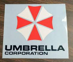 Resident Evil Umbrella Corp Logo Multi Colored Vinyl Decal For Car Ho Ftw Custom Vinyl