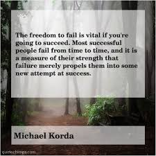 michael korda the dom to fail is quote chimps