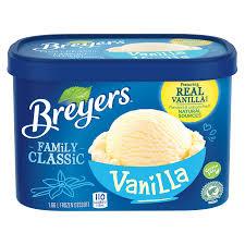 vanilla breyers canada