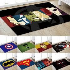 Captain America Printed Round Rug Carpet Office Living Room Bedroom Kids Fun For Sale Online Ebay