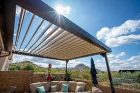 Equinox Louvered Roof System: Phoenix, Arizona Installations