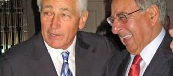 Chuck Hagel Shows Some Love For Leon Panetta at ADL Gala – The Forward