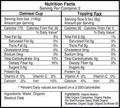 organic steelcut oatmeal