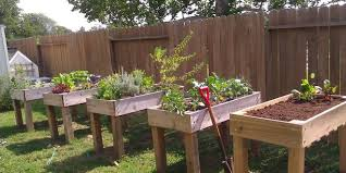 17 waist high raised garden bed plans