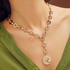gold coin necklace designs the best