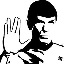 Star Trek Spock Decal Sticker Star Trek Spock Thriftysigns