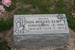 Ada Rogers Kemp (1900-1955) - Find A Grave Memorial