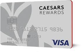 caesars rewards visa credit card